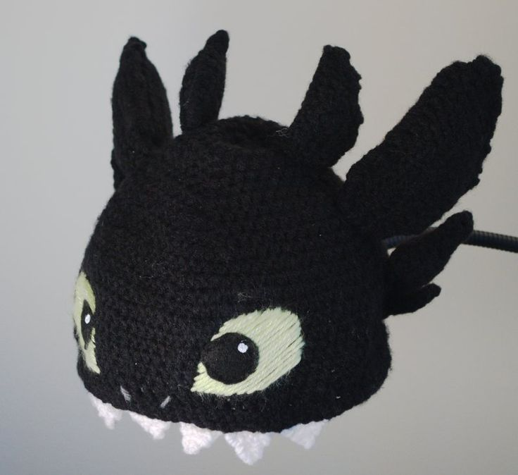 Knitting Pattern For Toothless Dragon : Pin by Jael n Pitre Pitre on Crochet projects Pinterest
