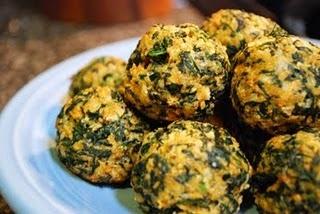 Spinach Balls | Rumbling Tummy | Pinterest