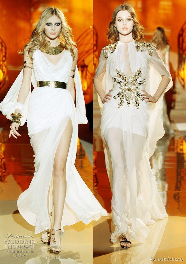 Designer Egyptian Inspired Wedding Dresses