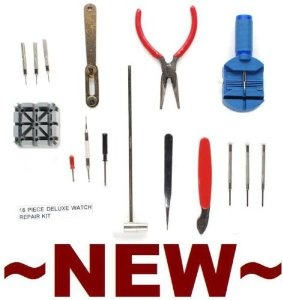 Wrist Watch Strap / Pin Repair Kit - 16 Tools, $5.00