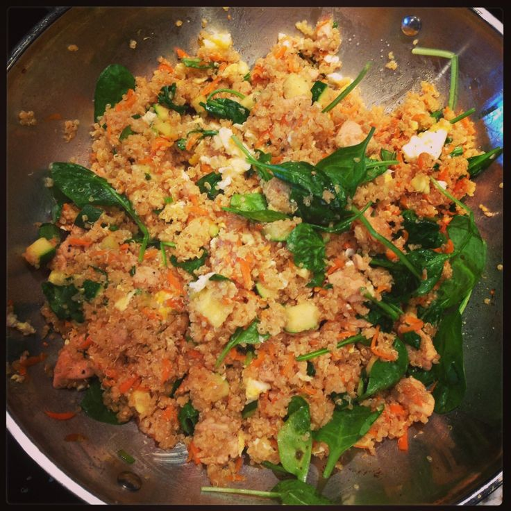 QUINOA FRIED RICE | Healthier, leaner, happier me! | Pinterest