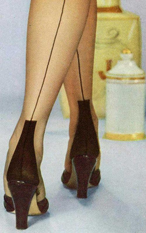 Silk stockings   Retro Style Love   Pinterest
