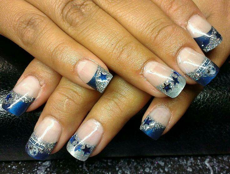 Dallas Cowboy nails | Other | Pinterest
