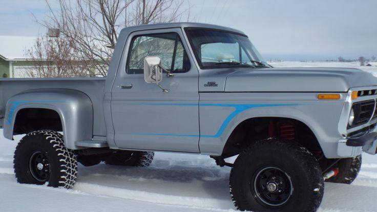 1977 Ford short-box step-side truck | Larry's Paint Jobs | Pinterest