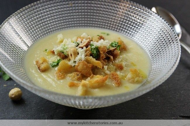 Cauliflower and Cheddar Soup | Food | Pinterest