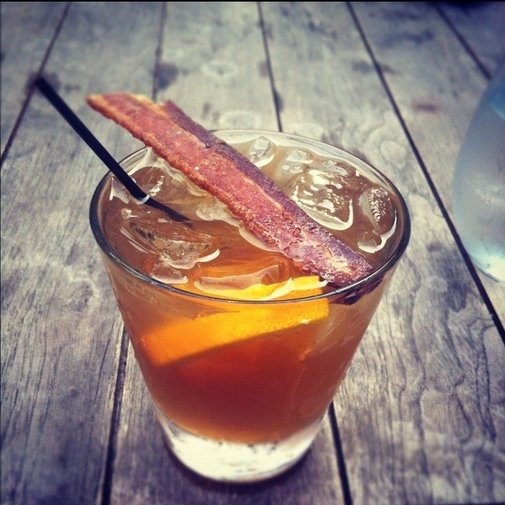 Bacon-infused bourbon at Dram Whiskey Bar in Birmingham