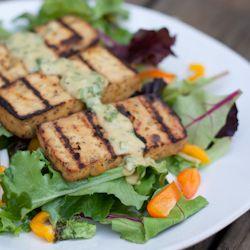Grilled Lemon Basil Tofu | entertaining | Pinterest