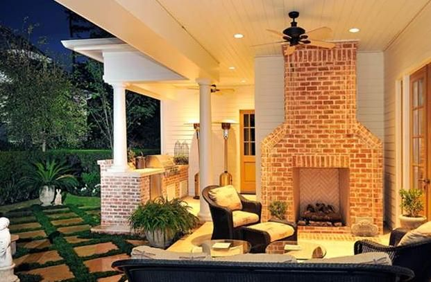 Backyard Remodel Bay Area : Outdoor Fireplace Design Ideas To Heat Up Your Bay Area Backyard
