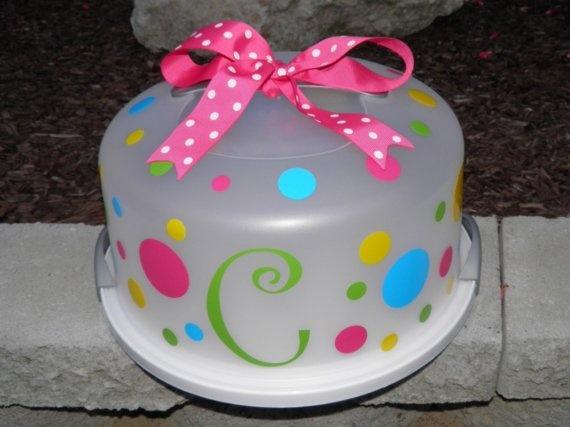 DIY cake case
