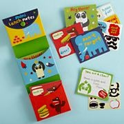 Kids Notecards: Kids Notecards and Sticker Set in New Back-to-School