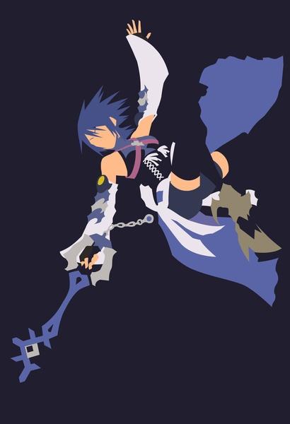 Kingdom Hearts - Aqua Art Print by TracingHorses