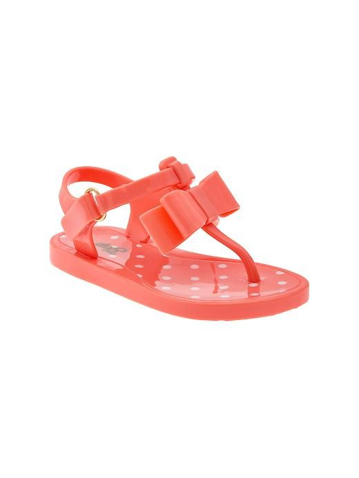 gap bow jelly sandals all