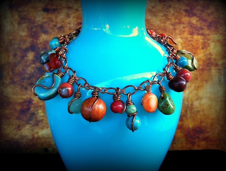 Boho Bracelet | Christensen Studio Jewelry | Pinterest