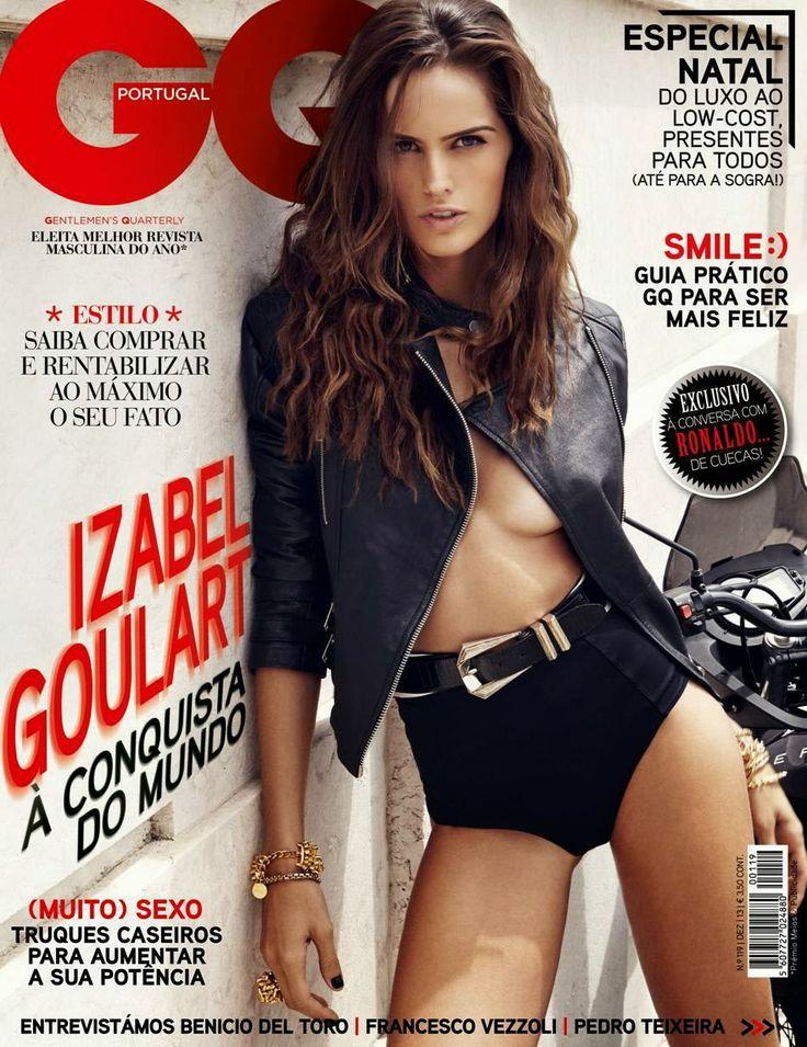 Izabel Goulart for GQ Portugal December 2013 Cover