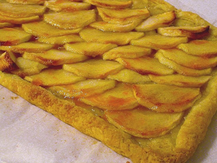 apple galette | SWEETS | apple of G's eye | Pinterest