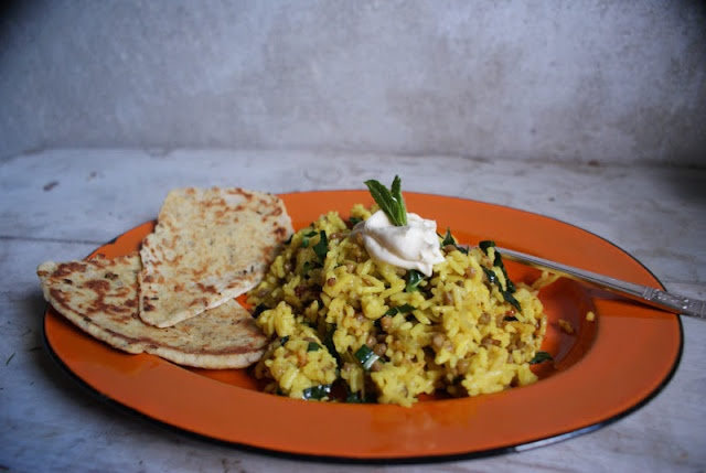 The Spade & Spoon: Vegan MoFo: Spiced Lentils & Rice with Cumin ...