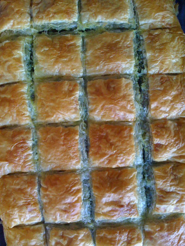Spinach Feta Phyllo (Goulash)   Egyptian cooking!   Pinterest