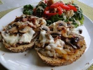 Mushroom Grilled Cheese Sandwich (aka The Mushroom Melt) Recipes ...