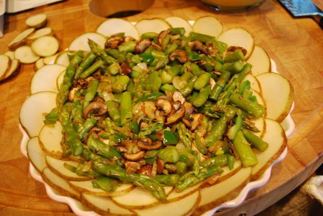 Simplify: Potato Crusted Veggie Quiche | Recipes | Pinterest