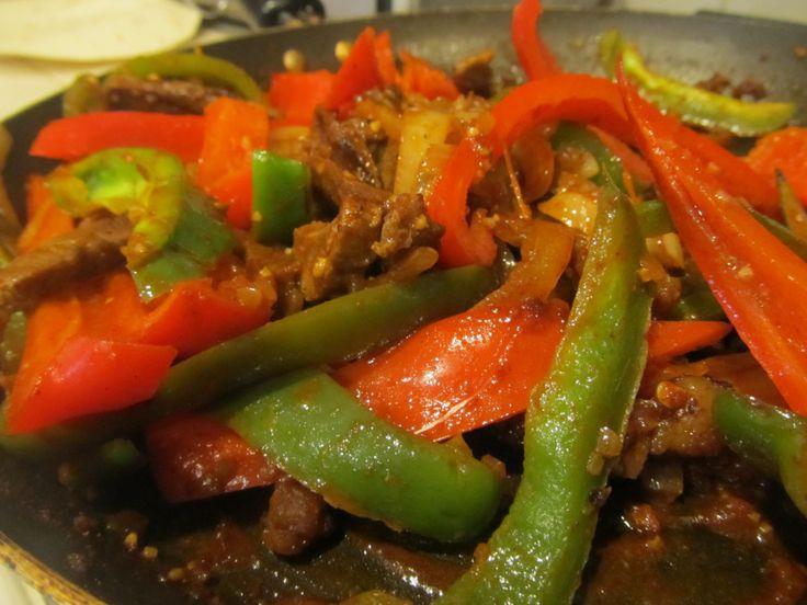 Steak Fajitas | Mexican | Pinterest