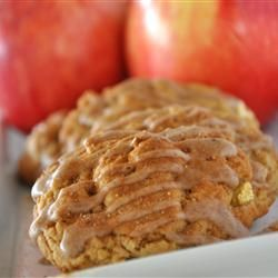 Glazed Apple Cookies | Recipe
