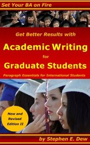 Academic writing for graduate students answer key - Stonewall Services