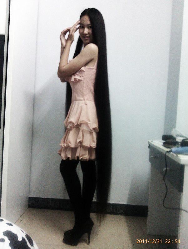 Yang Xier Beautiful Long Hair Pinterest