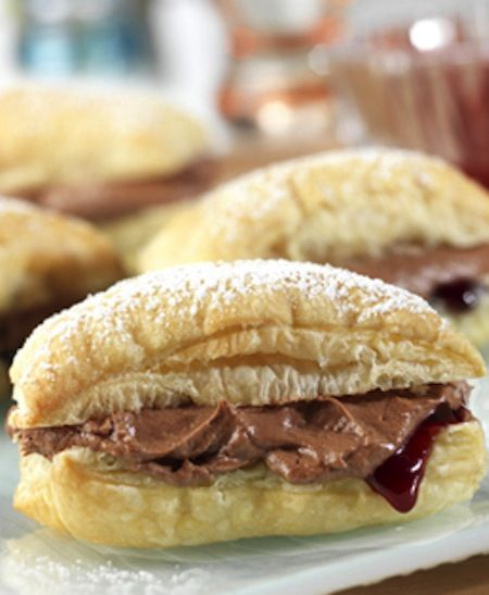 Chocolate Raspberry Mini-Napoleons | Favorite Recipes | Pinterest