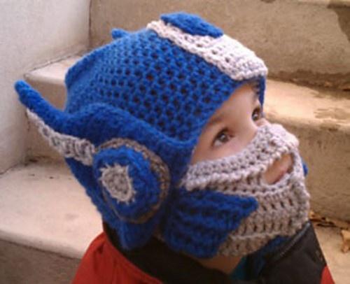 Crochet Pattern For Optimus Prime Hat : Transformer hat! Transformer hat! Crafts for Gannon ...
