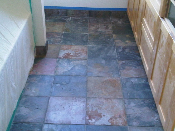 Multi Colored Slate In A 12x12 Tile Size By Color