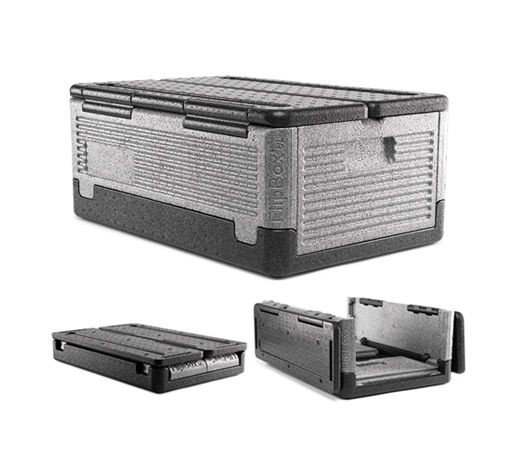 Flip box iceless cooler