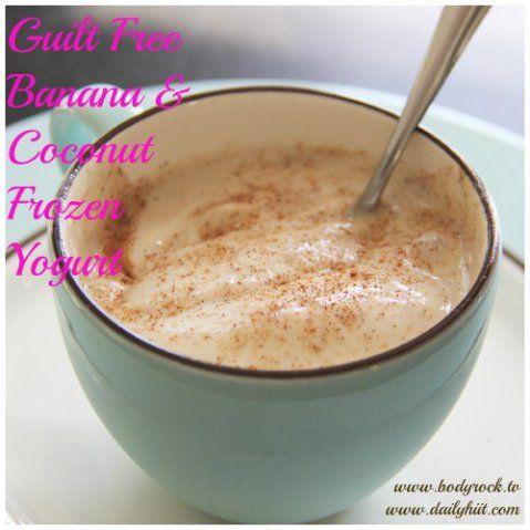 frozen yogurt   recipes   Pinterest