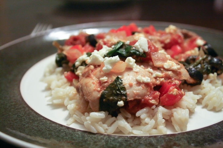 Food and Whine: Greek Chicken Thighs | Mmmm....food | Pinterest