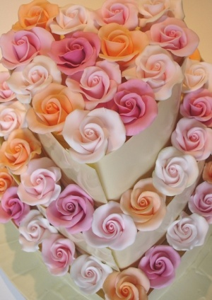 coolwater rose chocolate wedding cake nicky grant wedding cakes and ...