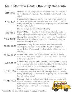 Best 25+ Preschool classroom schedule ideas on Pinterest ...