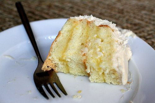 Lemon Layer Cake with Cream Cheese Frosting