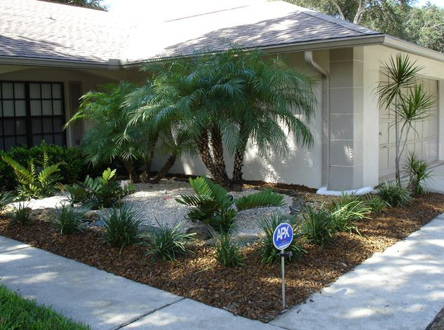 Garden and lanscape idea home landscaping designs using for No maintenance outdoor plants