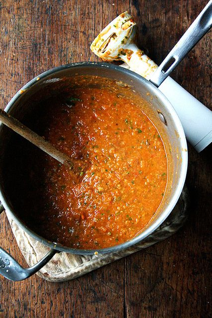 Roasted Tomato and Bread Soup | Recipe