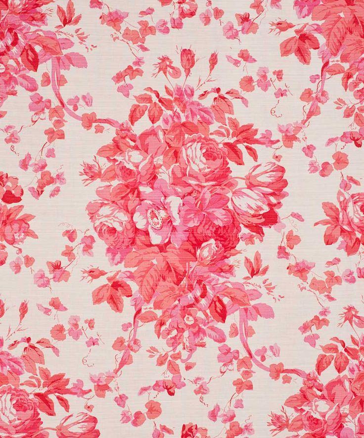 Vintage Pink Flower Wallpaper | www.imgkid.com - The Image ...