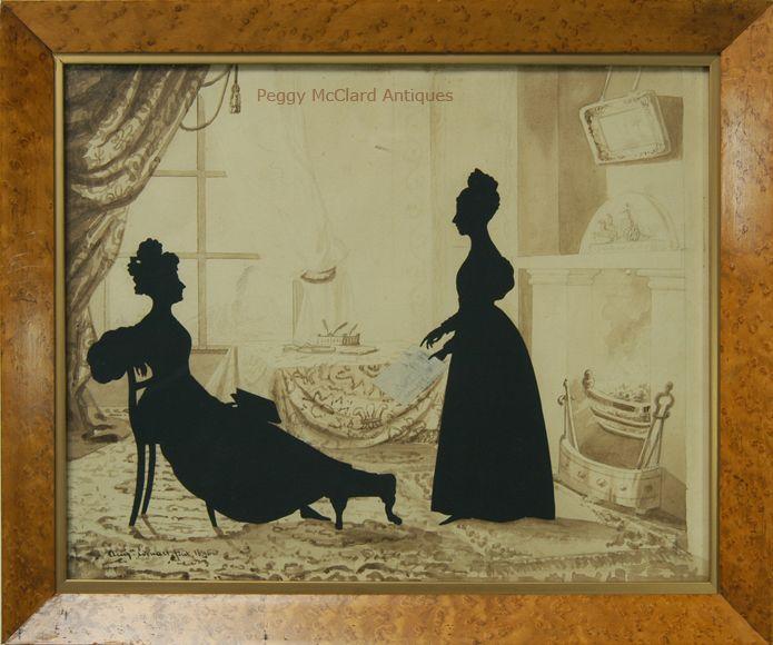 Two Ladies in their Best Room