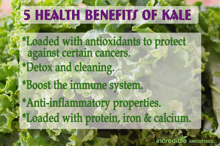 What are the benefits of eating kale