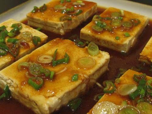 Spicy marinated tofu | Cook Cook Cook Vegan | Pinterest