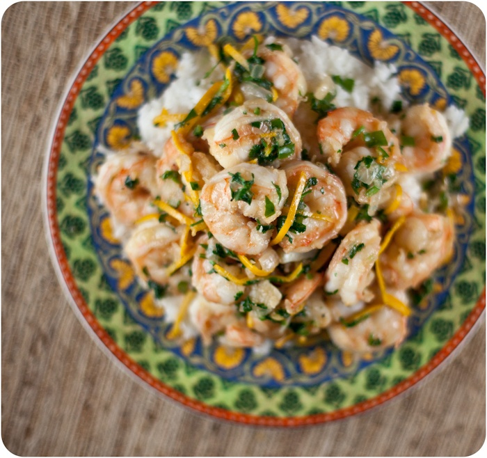 Shrimp with Orange and Tequila | Fish & Seafood | Pinterest