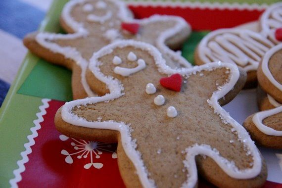 Soft and Spicy Gingerbread Cookies | Cookies, Brownies, Candies, and ...