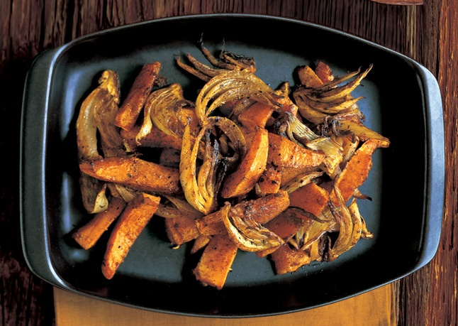 Spiced Winter Squash With Fennel Recipe — Dishmaps