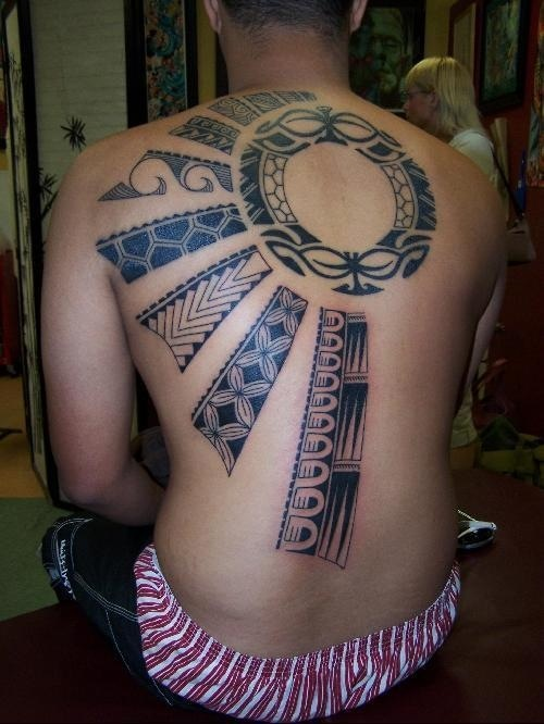 Upper Back And Shoulder Tattoo  TATTOOS Pinterest