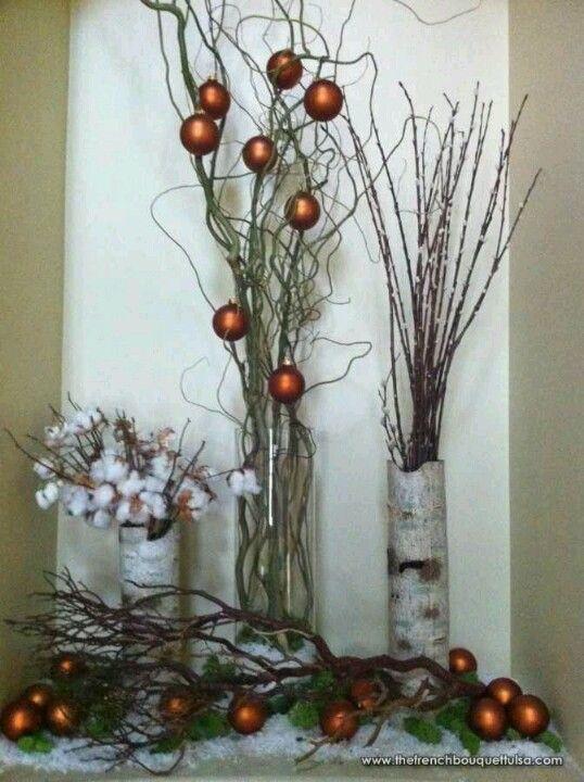 Easy rustic christmas decor pinterest