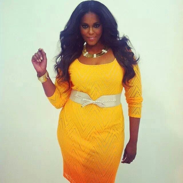 Cute & beautiful plus size . Curvy curves rocks the big girls fashion