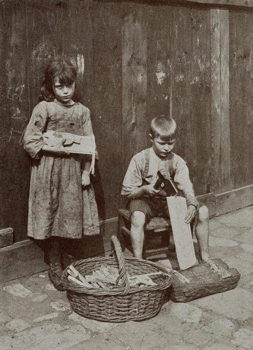 "U.K. Spitalfields Nippers, London, 1912."""