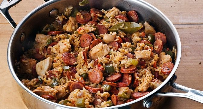 Cajun Jambalaya Seasoning and andouille sausage bring the flavors of ...